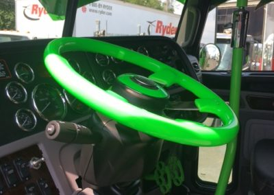 steering wheel view green 22