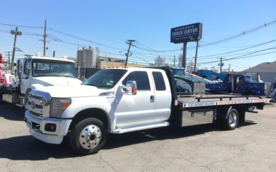 U-347: 2016 Ford F-550 Super Cab w 19.5′ Jerr-Dan 5 Ton Steel Carrier