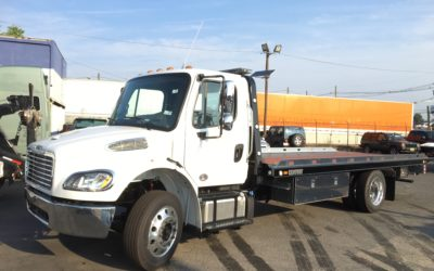 2053: 2019 Freightliner M2 w 21′ Century LCG 12 series Carrier