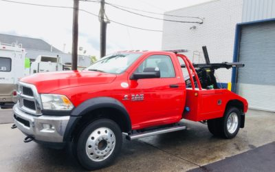2088: 2018 Dodge 4500 4×4 w Vulcan 810 Auto Loader Tow Truck