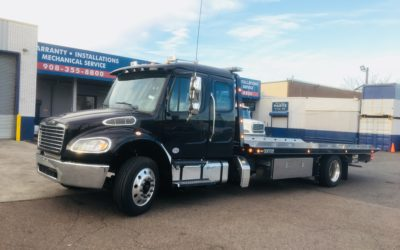 1961: 2019 Freightliner M2 Ext Cab w 22′ Century 12 series LCG Carrier