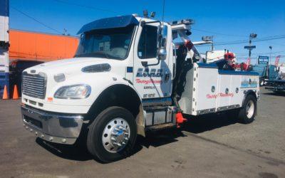 C-3212: 2012 Freightliner w Century 3212 & SP12K Side Puller Tow Truck