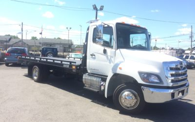 2152: 2020 Hino 258 w 21′ Chevron 10 series Carrier