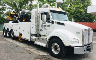 2007: 2019 KW T-880 w Century 1150 / 50 Ton Rotator w Knee Boom