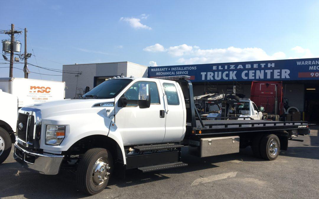 2154: 2019 Ford F-650 Super Cab w 21′ Chevron 10 series Carrier