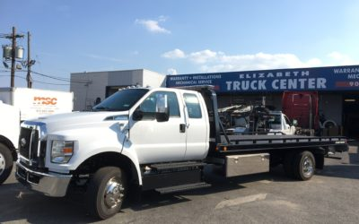 2154: 2019 Ford F-650 Super Cab w 21′ Chevron 10 series Carrier
