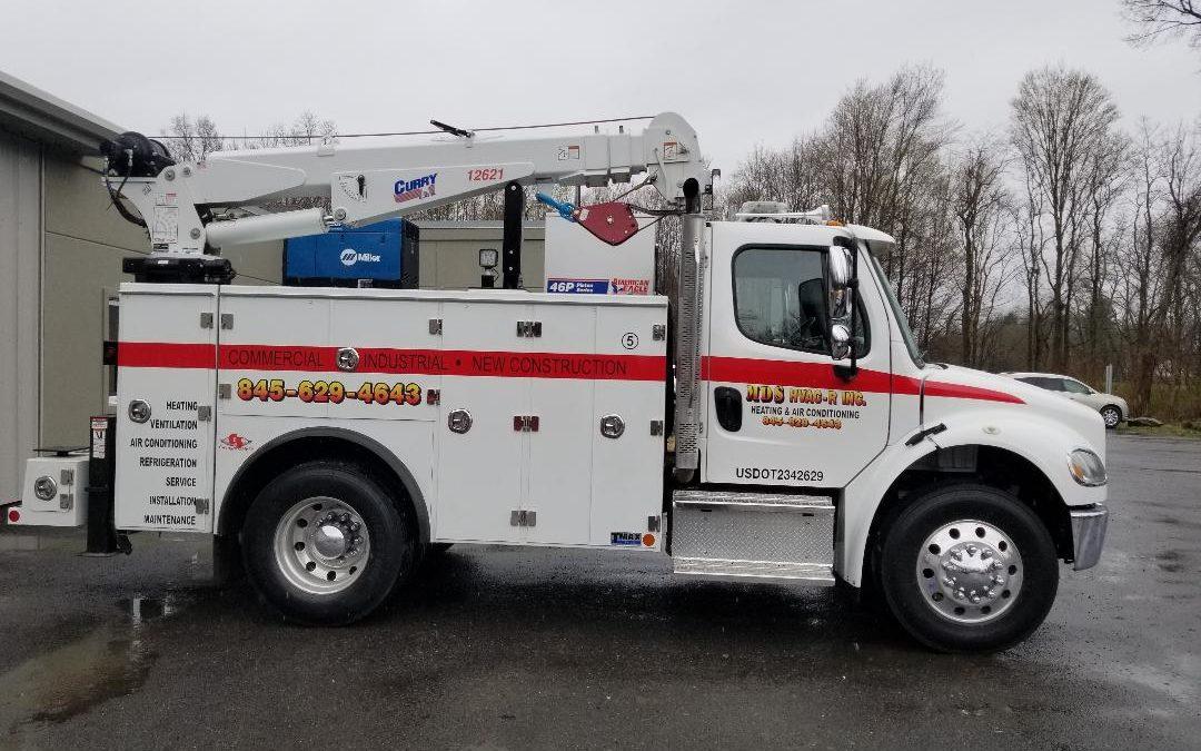 C-3003: 2017 Freightliner M2 w Service Truck / Utility Truck