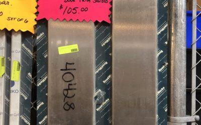 "Kenworth 6"" non daylight door trim sanded"