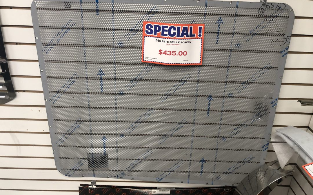 Peterbilt 389 Grille Screen Small