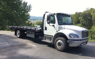 2197: 2020 Freightliner M2 w 21′ Chevron 10 series Carrier