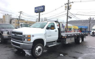 2131: 2019 Chevy 6500 4×4 w 21.5′ Chevron 10 series Carrier