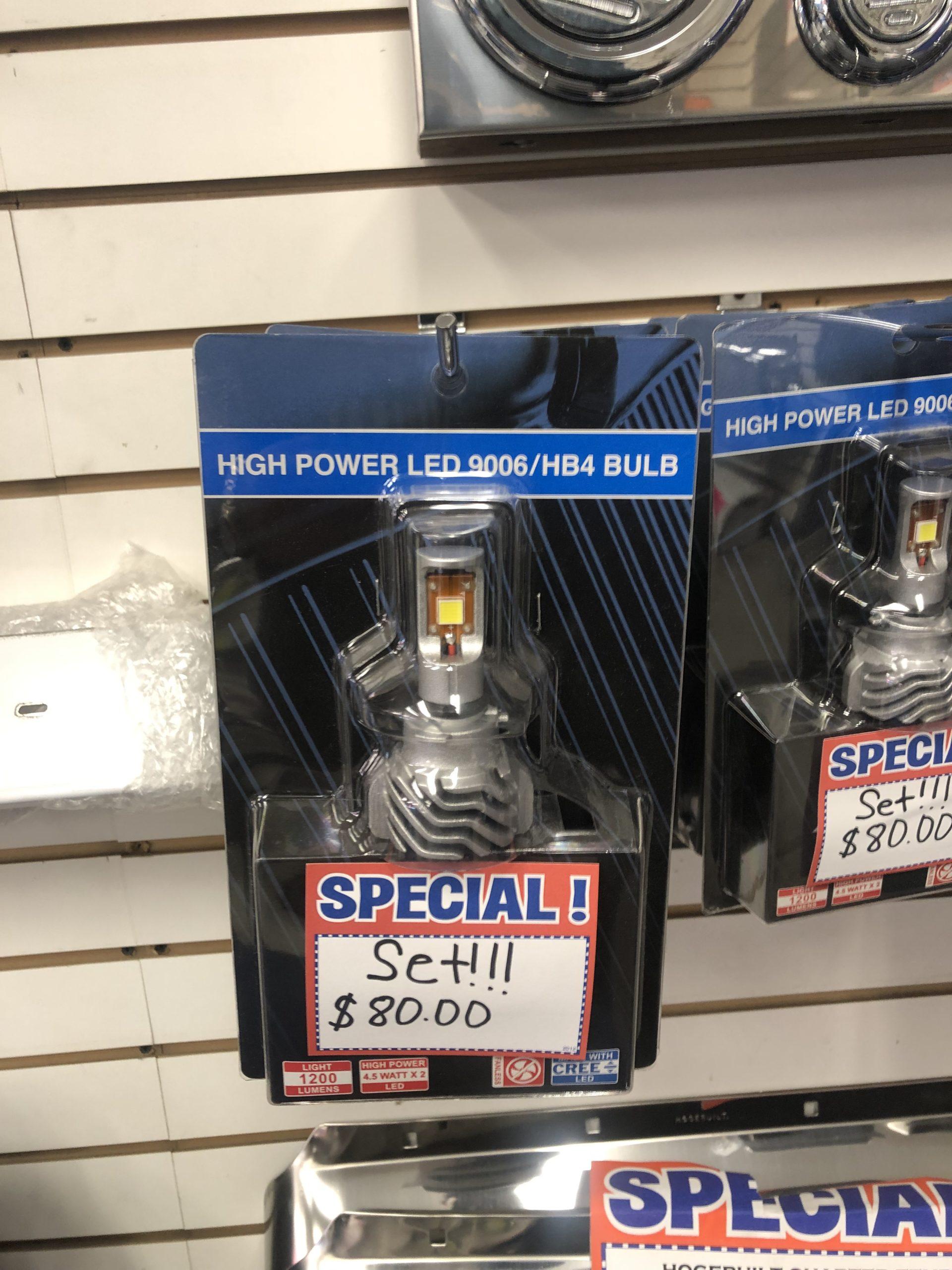LED 9006/HB4 Bulb