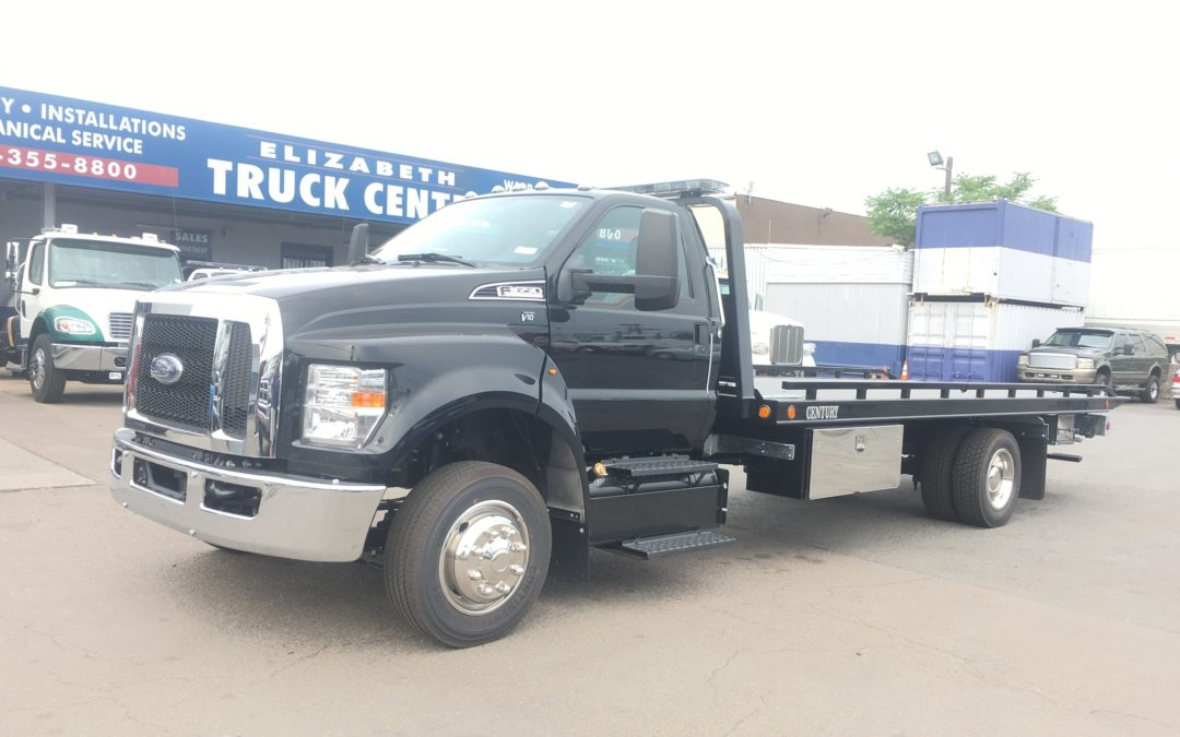 2169: 2019 Ford F-650 w 21′ Chevron 10 series Carrier
