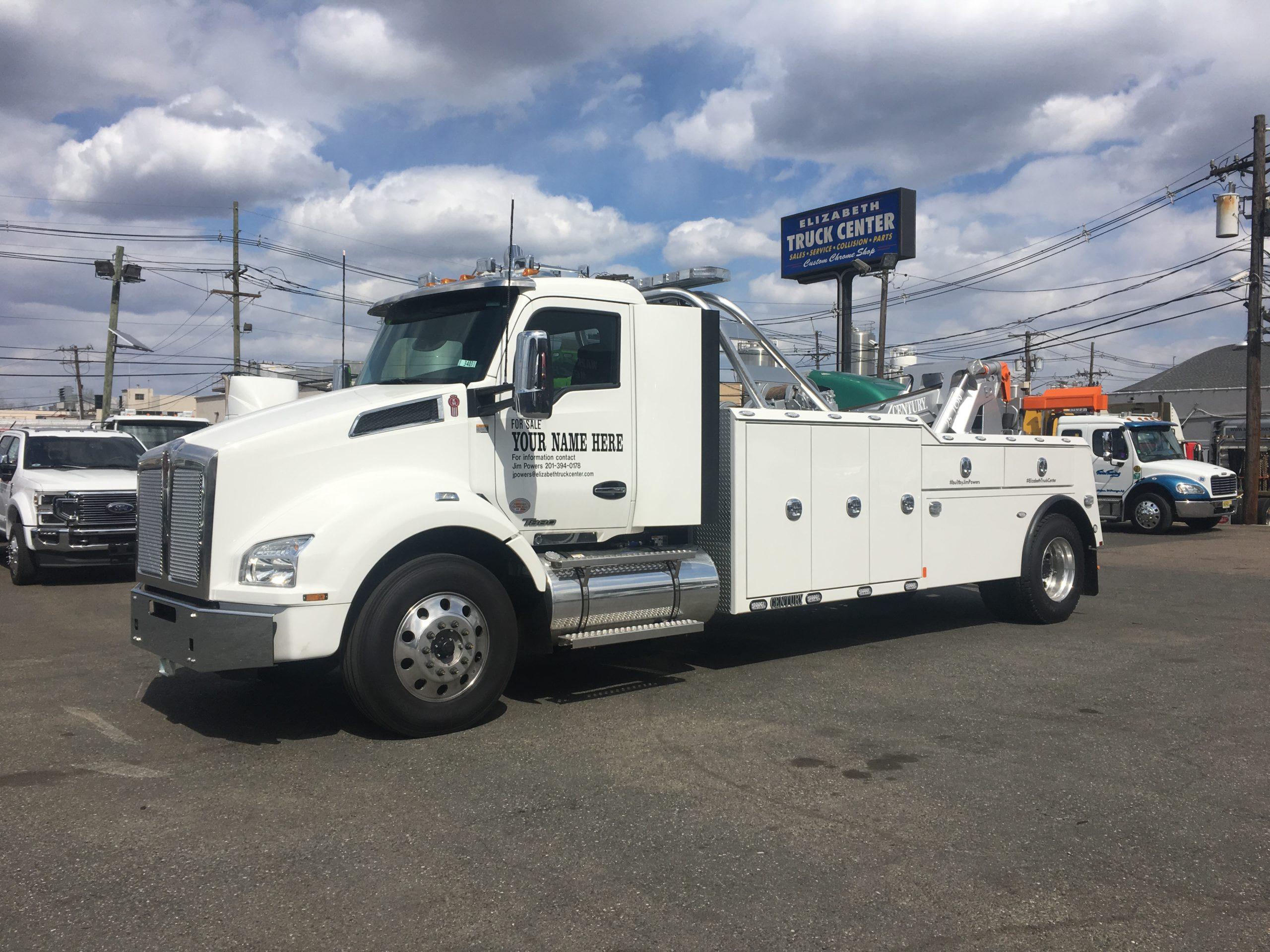2206: 2020 Kenworth T-880 w Century 5130 / 25 Ton Tow Truck