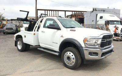 3067: 2019 Dodge 4500 4×4 w Vulcan 812 Tow Truck