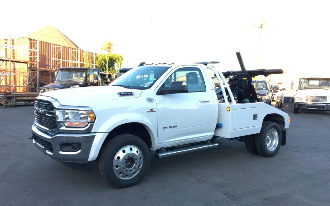 3090: 2020 Dodge 4500 4×4 w Vulcan 810 Auto Loader Tow Truck
