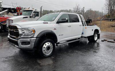 #C-412: 2019 Dodge 5500 4×4 Crew Cab w Century 412 Tow Truck