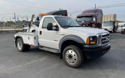 #U-574: 2006 Ford F-450 w Jerr-Dan QP40 Auto Load Tow Truck